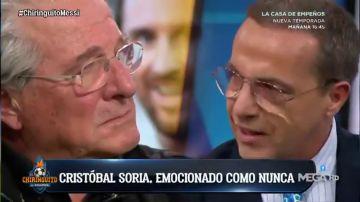 Las lágrimas de Soria y D'Alessandro tras el homenaje más especial de Messi a Maradona