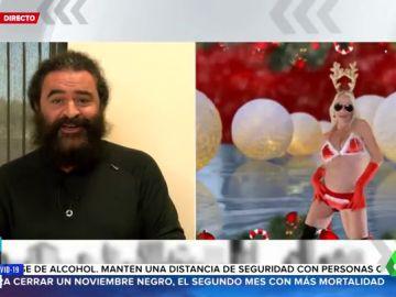 """El Sevilla habla del vídeo de Leticia Sabater """"montando"""" a Papá Noel"""