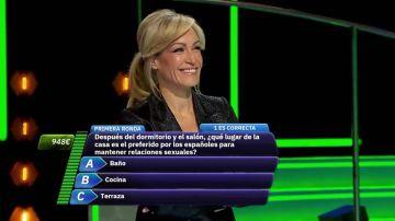 ¿Qué lugar de la casa es el preferido por los españoles para mantener relaciones sexuales?