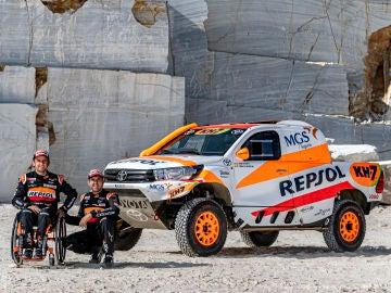 Esteve participará en su sexta edición del Rally Dakar en coches