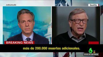 Nueva advertencia de Bill Gates, que pronosticó la llegada de una pandemia