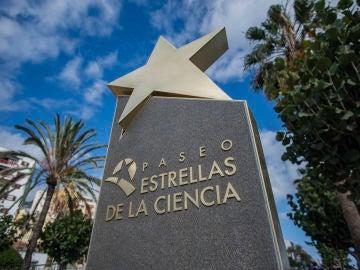 Paseo de las Estrellas de la Ciencia, La Palma.