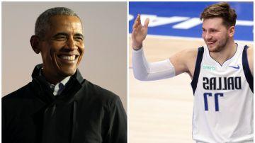 Barack Obama y Luka Doncic