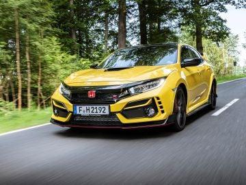El Honda Civic Type R Limited Edition viene con un nuevo color: Sunlight Yellow