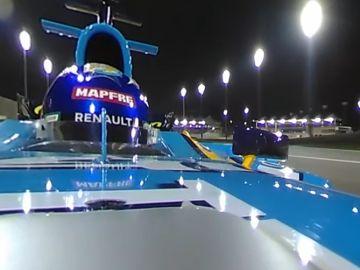 Cámara on board de Fernando Alonso