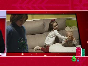 La reacción de una niña al escuchar que no habrá regalos en Navidad