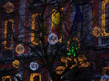 Luces de Navidad en Lieja