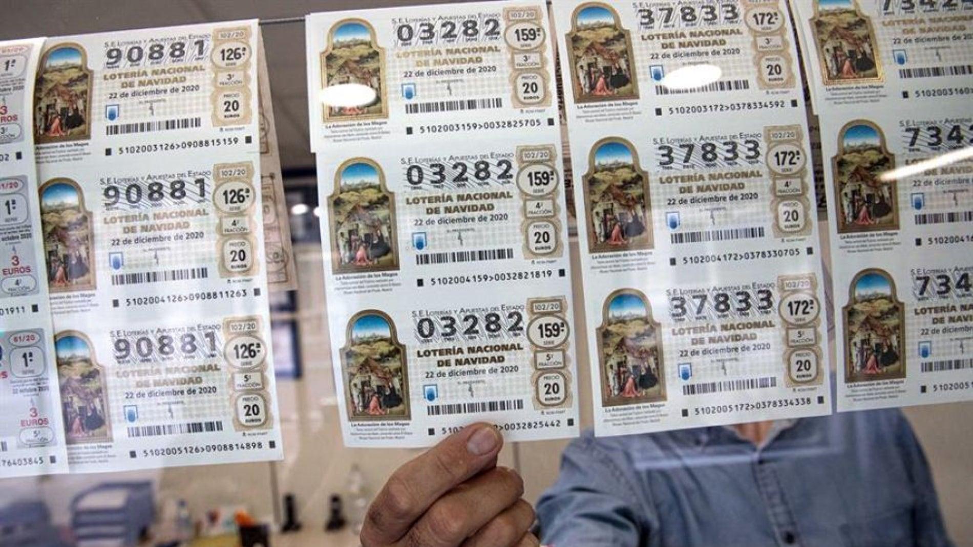 Cuándo caduca un décimo de la Lotería de Navidad 2020