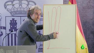 """La divertida imitación de Joaquín Reyes a Fernando Simón, """"icono pop de 2020"""": """"¡Quédate en tu p*** casa!"""""""
