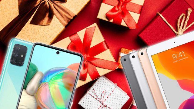 Móviles y tabletas de Navidad