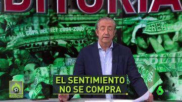 """Pedrerol: """"Si Haro no llama a Serra Ferrer, nunca será el presidente de todos los béticos"""""""