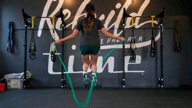 Una cuerda virtual que nos ayuda a mantener el ritmo