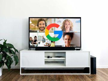 Ver las videollamadas en la televisión