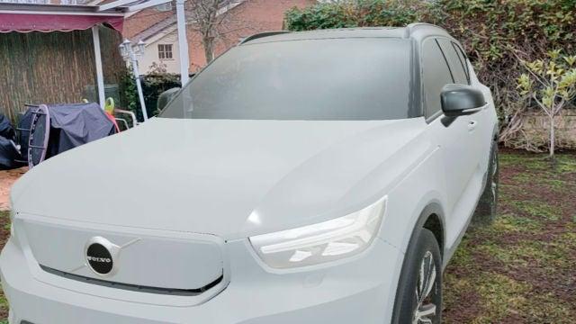 Volvo CX40 Recharge en realidad aumentada