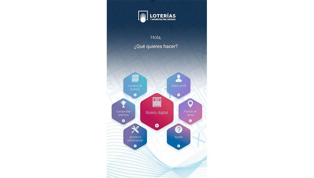 App de Loterías y Apuestas del Estado