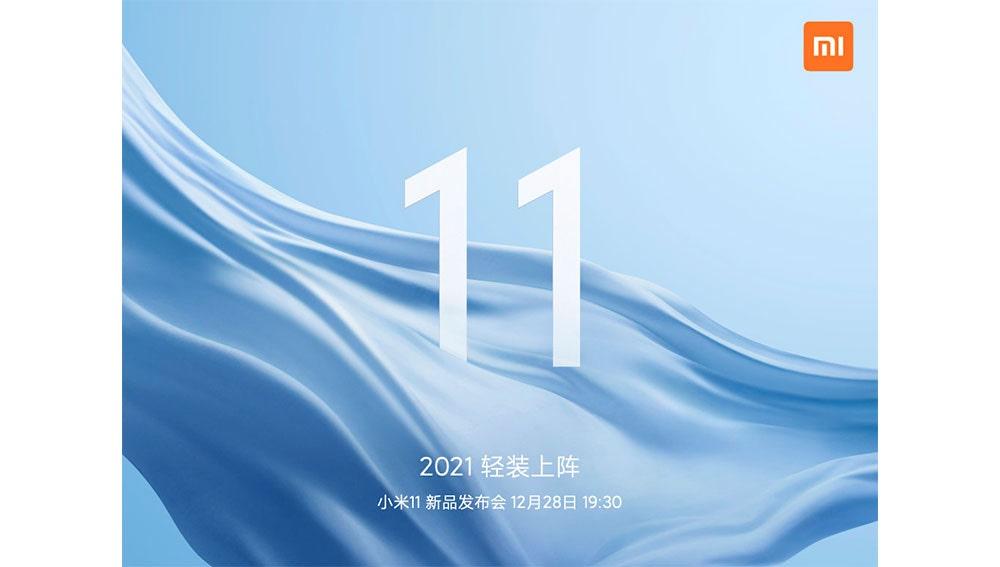 Anuncio de Xiaomi en Weibo