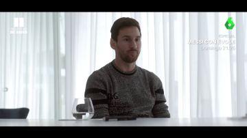 Leo Messi se confiesa en su entrevista con Jordi Évole