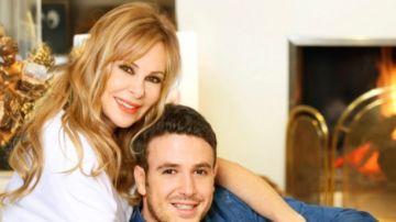 Imagen de Ana Obregón junto a su hijo Aless Lequio