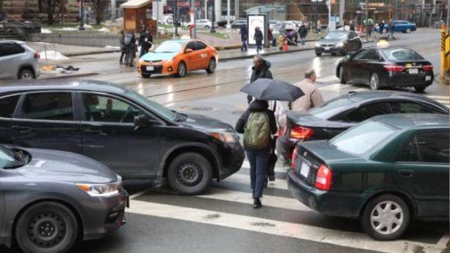 Multas por el mal uso de los pasos de peatones
