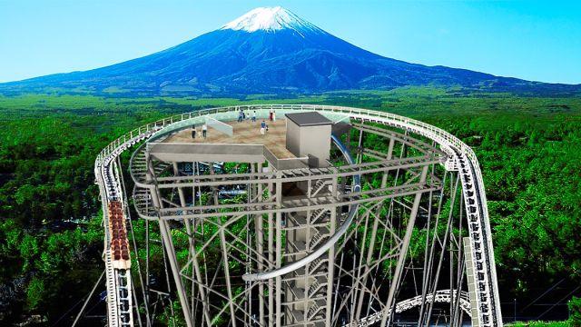 Nueva Torre con vistas al Monte Fuji