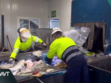 Trabajadores del sector del reciclaje