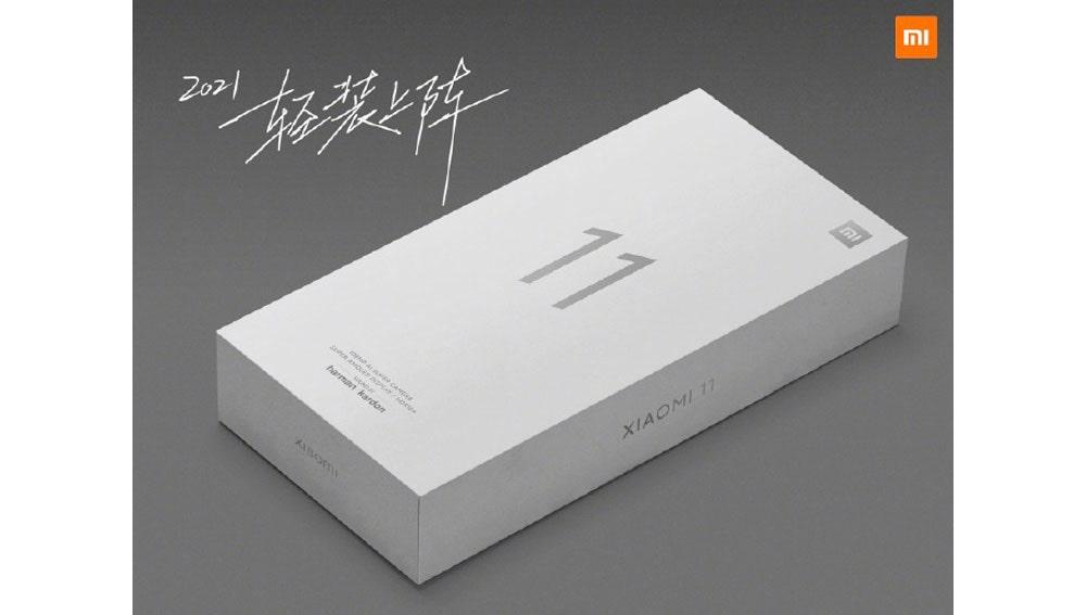Nueva caja del Xiaomi Mi 11 sin cargador.