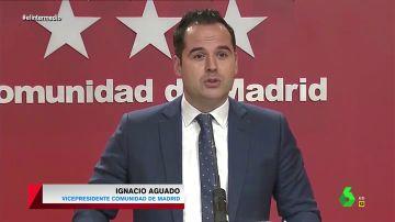"""La """"original"""" petición de Ignacio Aguado tras la borrasca: """"Los Ayuntamientos necesitan una mano, una pala o una excavadora"""""""