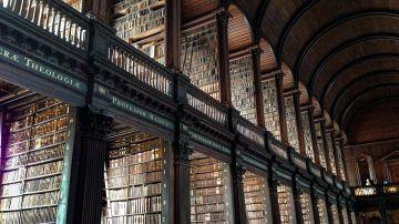 Trinity College Library, Dublín
