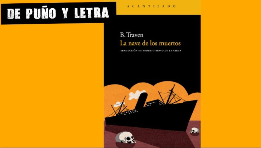 Portada de 'La nave de los muertos' de B.Traven