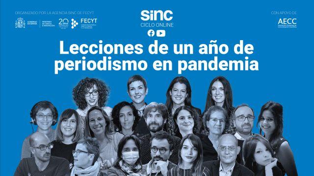 La agencia SINC organiza el ciclo de debates online Lecciones de un ano de periodismo en pandemia