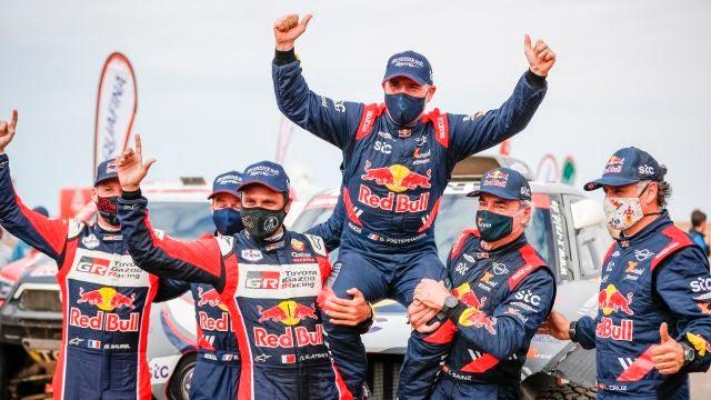 Peterhansel gana su 14º Dakar