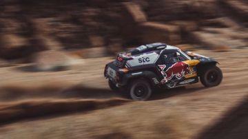 Carlos Sainz, en el Dakar 2021