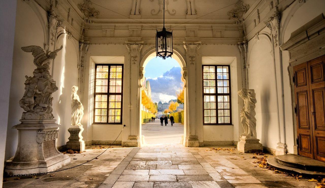 Acceso Palacio Belvedere