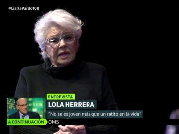 """La reflexión de Lola Herrera sobre la etapa de la vejez: """"Dice mucho de una sociedad donde la gente mayor sobra"""""""
