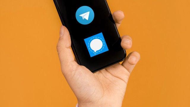 Telegram y Signal