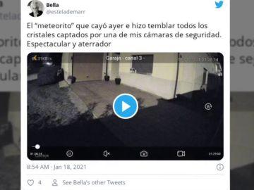¿Un meteorito? Captan una explosión que se sintió desde Galicia hasta Ávila