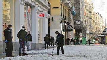laSexta Noticias 14:00 (19-01-21) El Gobierno declara Madrid y otras comunidades zona catastrófica tras la gran nevada de la borrasca Filomena
