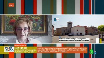 """Habla la alcaldesa de Tabanera de Cerrato, el pueblo que busca una familia con hijos: """"Es una forma de darle vida"""""""