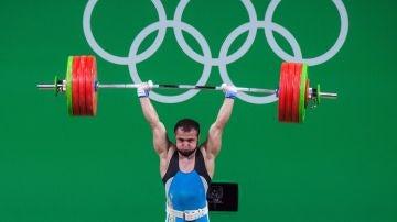 Nijat Rahimov, en los JJOO de Río 2016