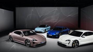 Gama de modelos Taycan de Porsche