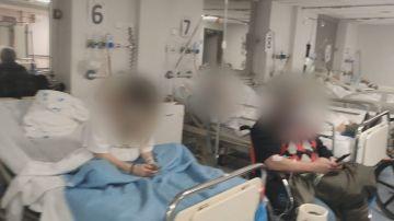 Las Urgencias del Hospital de La Paz, colapsadas