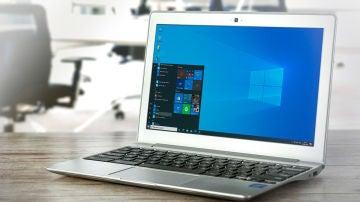 Ordenador con la sesión de Windows abierta
