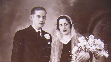 Boda de Eugenio Insúa e Irene Serrano y Bartolomé