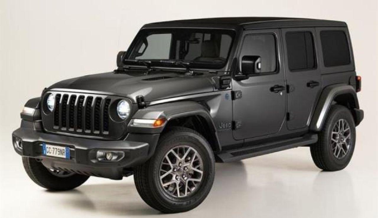 Jeep Wrangler híbrido enchufable