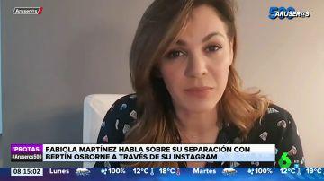 Fabiola Martínez se sincera sobre su separación de Bertín Osborne y el acuerdo económico al que han llegado
