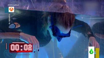 Kira Miró se enfrenta al reto de la apnea en 'El Desafío' y bate su propio récord