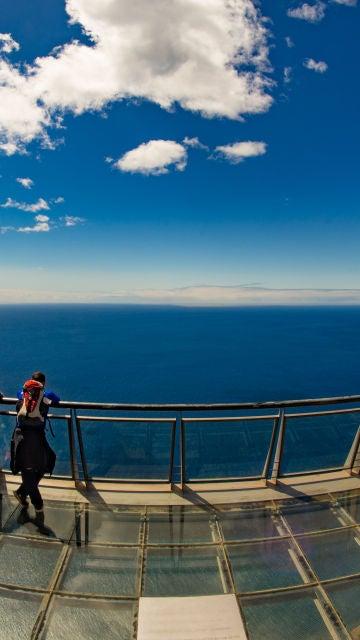 Mirador Do Cabo Girao, en el acantilado más alto de Europa