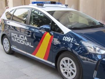 Un coche patrulla