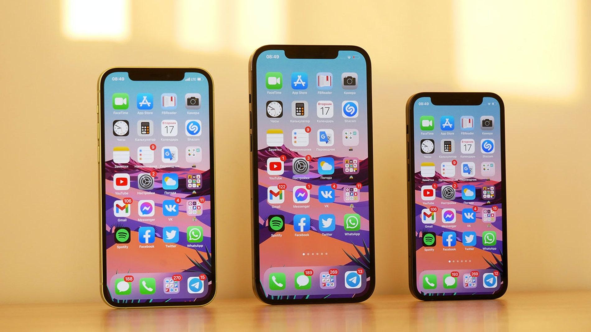 Familia de iPhone 12