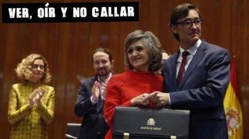Salvador Illa recibe la cartera de Sanidad (Archivo)